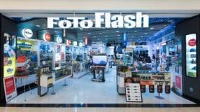 Tienda de FotoFlash en la alameda de Suria KLSS, Kuala Lumpur Foto de archivo