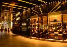 Tienda de Gucci Foto de archivo libre de regalías