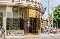 Tienda de Gucci Imagen de archivo