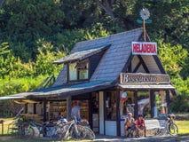 Tienda de helado Foto de archivo libre de regalías