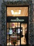 Tienda de Jaeger LeCoultre en Milán imagen de archivo libre de regalías