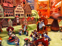 Tienda de Käthe Wohlfahrt de la sala de exposición Imagen de archivo libre de regalías