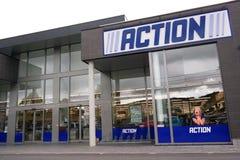 Tienda de la acción Fotos de archivo