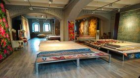 Tienda de la alfombra Fotos de archivo