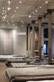 Tienda de la alfombra Imagen de archivo