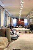 Tienda de la alfombra Fotografía de archivo libre de regalías