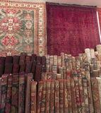 Tienda de la alfombra en Riad Fotografía de archivo libre de regalías