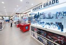 Tienda de la base de Gundam, Seul, Corea del Sur Foto de archivo libre de regalías