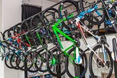 Tienda de la bicicleta Imagen de archivo libre de regalías