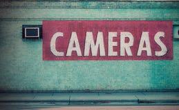 Tienda de la cámara Foto de archivo libre de regalías