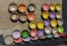Tienda de la cerámica en Hoi An, Vietnam Foto de archivo libre de regalías