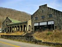 Tienda de la compañía abandonada 2 del carbón Imágenes de archivo libres de regalías