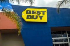Tienda de la electrónica de Best Buy Fotografía de archivo libre de regalías