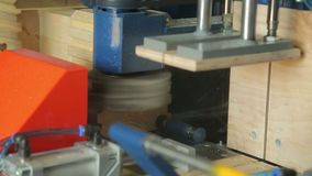 Tienda de la empresa de la carpintería para procesar de la madera almacen de video