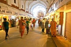 Tienda de la gente dentro del Meena Foto de archivo libre de regalías