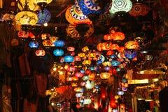 Tienda de la lámpara Foto de archivo libre de regalías