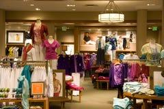 Tienda de la moda Fotografía de archivo libre de regalías
