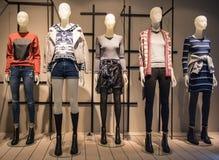 Tienda de la moda de las mujeres Imagen de archivo