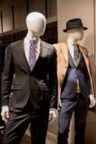 Tienda de la moda de los hombres Imagen de archivo libre de regalías