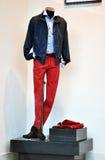 Tienda de la moda de los hombres s Fotografía de archivo
