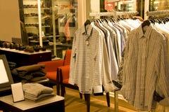 Tienda de la moda del hombre Imagen de archivo