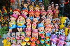 Tienda de la muñeca de la arcilla Imagenes de archivo