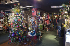 Tienda de la Navidad Fotos de archivo