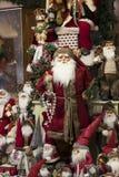 Tienda de la Navidad de recuerdos y de la joyería en la ciudad de Sainte-Andr en Hungría Imagenes de archivo