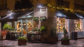 Tienda de la noche Foto de archivo libre de regalías