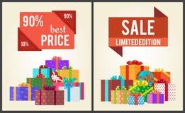 Tienda de la venta del total de la edición de 90 Best Price Limited ahora Fotografía de archivo