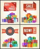 Tienda de la venta del total de la edición de 90 Best Price Limited ahora Imágenes de archivo libres de regalías