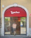 Tienda de Loacker Fotografía de archivo