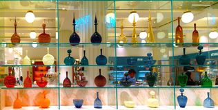 Tienda de Londres del departamento del perfume de Selfridges Imagen de archivo libre de regalías