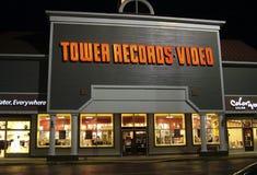 Tienda de los expedientes de la torre, en un Md de Annapolis del centro comercial fotos de archivo libres de regalías
