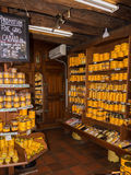 Tienda de los gras de Foie Imagen de archivo