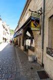 Tienda de los gras de Rocmadour Foie Imagenes de archivo