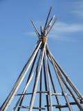 Tienda de los indios norteamericanos Foto de archivo libre de regalías