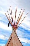 Tienda de los indios norteamericanos Fotos de archivo