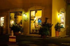 Tienda de los isquiones Foto de archivo