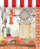 Tienda de los pescados Fotografía de archivo libre de regalías