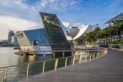 Tienda de Louis Vuitton en Marina Bay fotografía de archivo libre de regalías