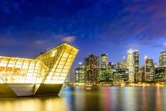 Tienda de Louis Vuitton en Marina Bay fotografía de archivo