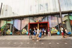 Tienda de M&M World Fotos de archivo
