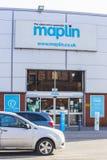 Tienda de Maplin Electronics en Leeds, Reino Unido Imágenes de archivo libres de regalías