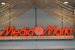 Tienda de Media Markt Imagen de archivo libre de regalías