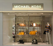 Tienda de Michael Kors Imágenes de archivo libres de regalías