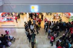 Tienda de Microsoft en Black Friday 2014 Fotos de archivo