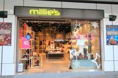 Tienda de Millies en el kveekoong de hong Imagen de archivo libre de regalías