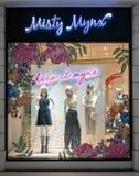 Tienda de Misty Mynx en Bangna mega, Bangkok, Tailandia, el 2 de junio de 2018 imagenes de archivo