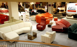 Tienda de muebles Foto de archivo libre de regalías